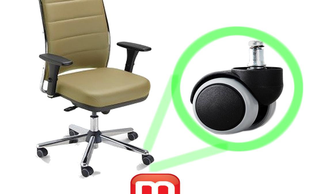 Escolhendo o rodízio para sua cadeira